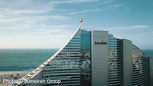 Lighting For Jumeirah Beach Hotel