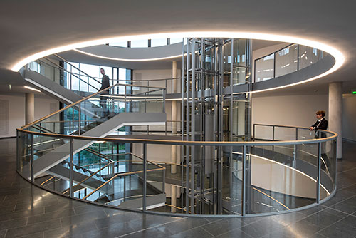 Tridonic Atrium At Dspace Gmbh Headquarters