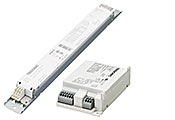 Fixed-output electronic ballasts for fluorescent lamps